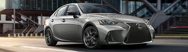 Lexus team reveals details about new Black Line upgrade pack