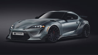 priordesign team announces new exclusive body kit for toyota supra