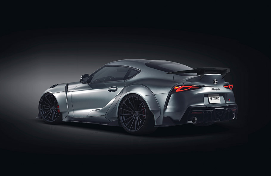 2019 Prior Design Toyota Supra
