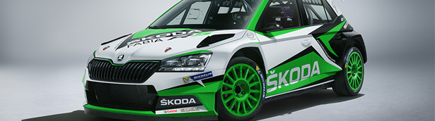 SKODA announces new Fabia R5 for upcoming rally challenges