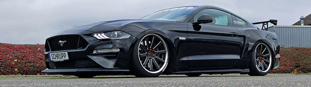 Schropp Tuning team presents a new vision for Ford Mustang!