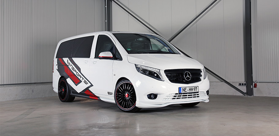 2019 VANSPORT.DE Mercedes-Benz White Sports Van