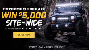 raxiom $5,000 giveaway on extremeterrain.com