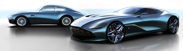 Aston Martin presents new images of the DBS GT Zagato concept. Check it out!