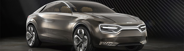 Kia unveils new concept car at the Geneva Motor Show