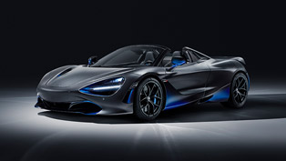 mclaren presents new 720s spider at the geneva motor show