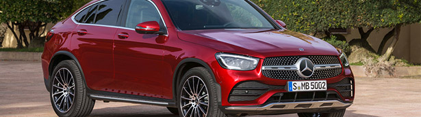 Mercedes showcases fresh new GLC Coupe machine