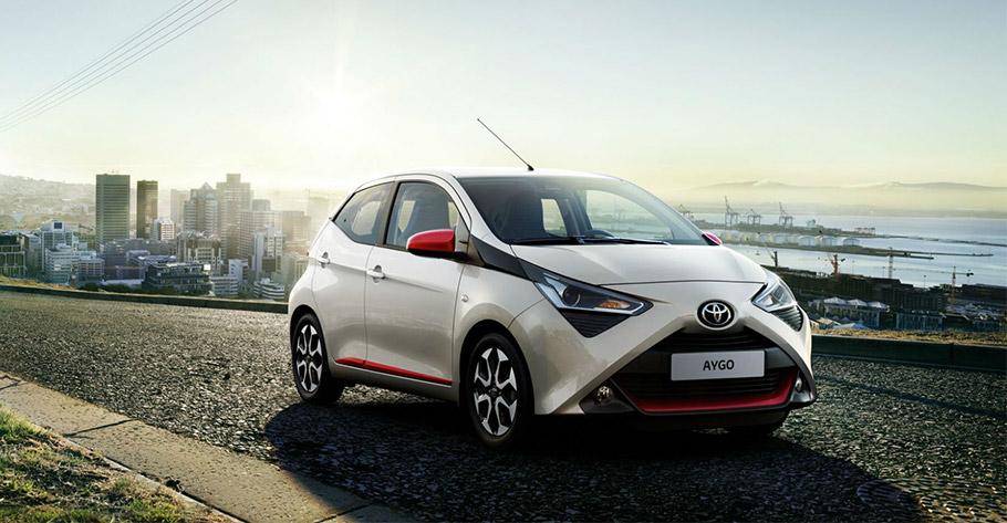 2019 Toyota Aygo x-trend