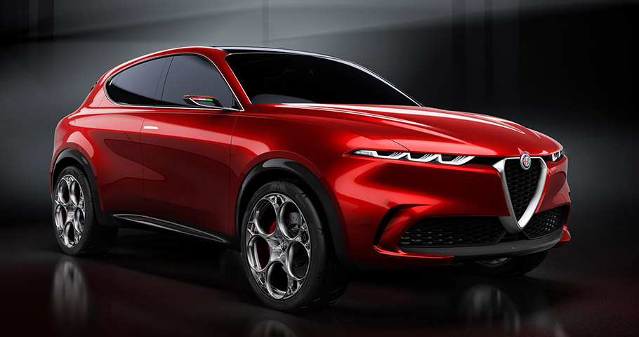 2019 Alfa Romeo Tonale Concept