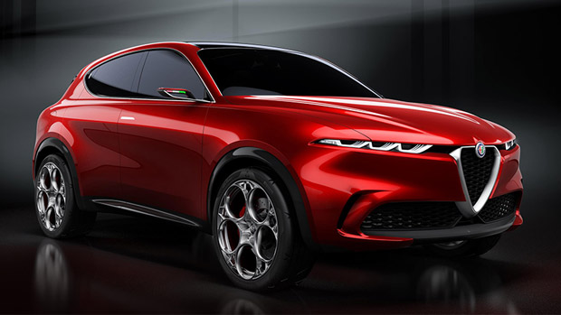 Alfa Romeo Tonale Concept makes its home debut at Salone Internazionale del Mobile