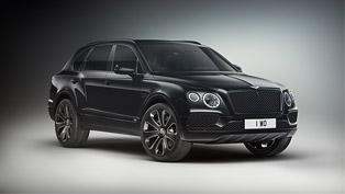 Bentley team unveils new Bentayga Design Series machines