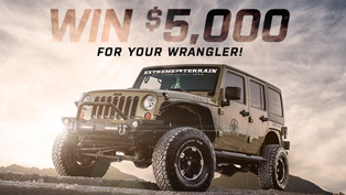 win $5000 in upgrades for your wrangler or tacoma