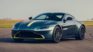 Aston Martin proudly reveals Vantage AMR beast!