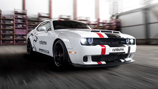 geigercars.de team takes a closer look at a lucky dodge hellcat machine!