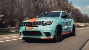 geigercars.de team strikes again! check out the mightiest jeep suv redefined!
