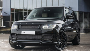 kahn design proudly presents new range rover santorini black edition!