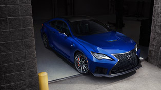 lexus team presents new sporty and sexy rc f coupe machine!