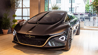 aston martin reveals new lagonda vision concept at the electric future event