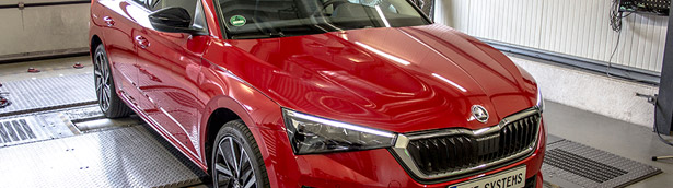 DTE Systems applies PowerControl X to a lucky Skoda Scala!