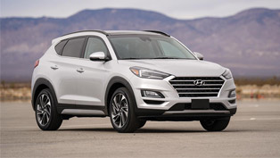 Hyundai Tucson takes home the prestigious TOP SAFETY PICK PLUS AWARD!