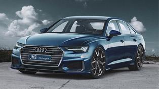 JMS team tweaks a lucku Audi A6. Check it out!