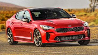 Kia Stinger takes home Top Safety Pick Plus award!