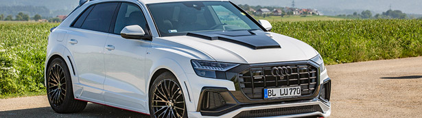 Badassery overload: LUMMA Design upgrades a lucky Audi Q8!