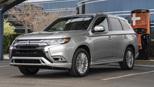 2019 mitsubishi outlander phev receives high rating from nempa