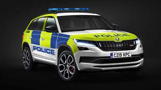 SKODA presents new sRV police machine. Details here!