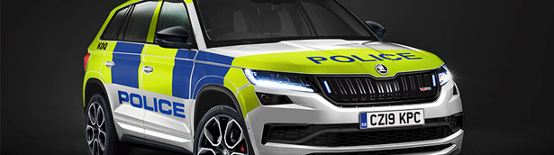 SKODA presents new sRV police machine. Details here!