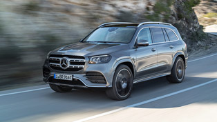 Mercedes announces details about the upcoming 2020 GLS 4MATIC machine