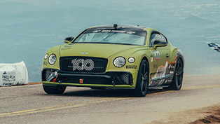 Bentley and Rhys Millen break the record at Pikes Peaks again!