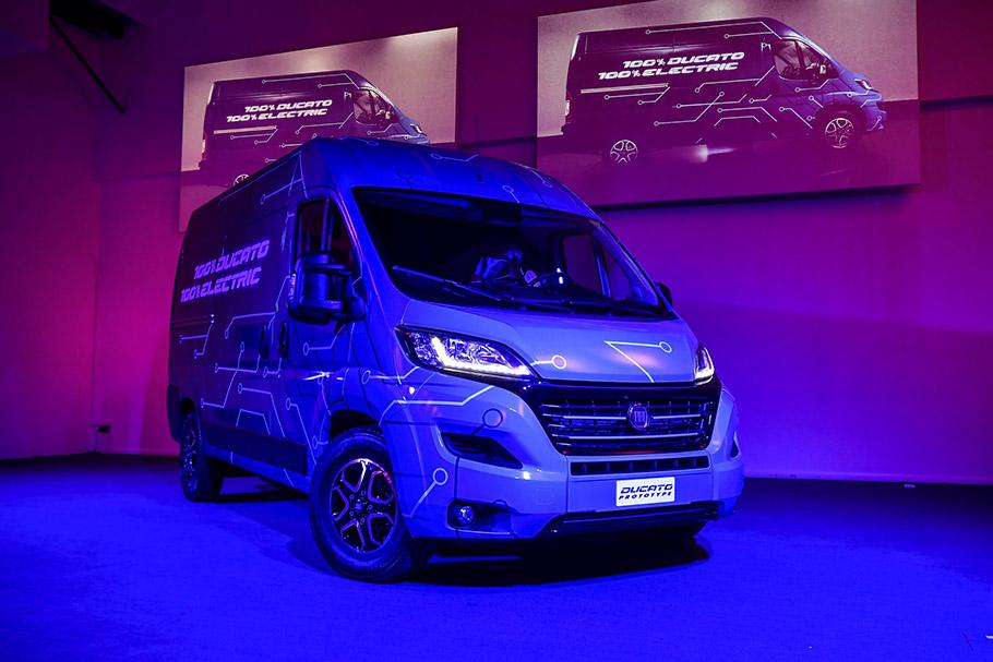 2019 Fiat Professional Ducato Electric