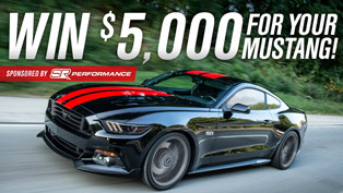 Win $5,000 in Upgrades for Your Mustang