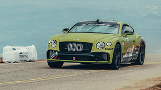 bentley showcases the pikes peak record run with two videos!