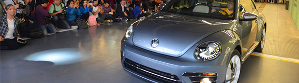 Volkswagen calls it a day: Puebla plant has released the last Beetle machine