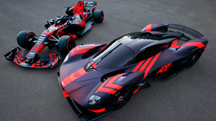 Aston Martin takes new Valkyrie for a test ride!