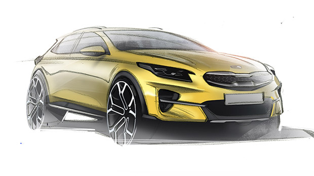 Kia designers reveal sketches of upcoming XCeed crossover lineup!