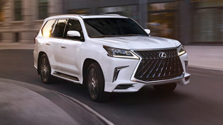 lexus reveals new lx 570 sport package upgrade!