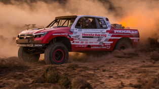 honda baja ridgeline finishes second in vegas to reno