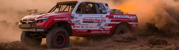 Honda Baja Ridgeline finishes second in Vegas to Reno