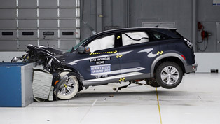 Hyundai NEXO earns the prestigious TOP SAFETY PICK PLUS from IIHS