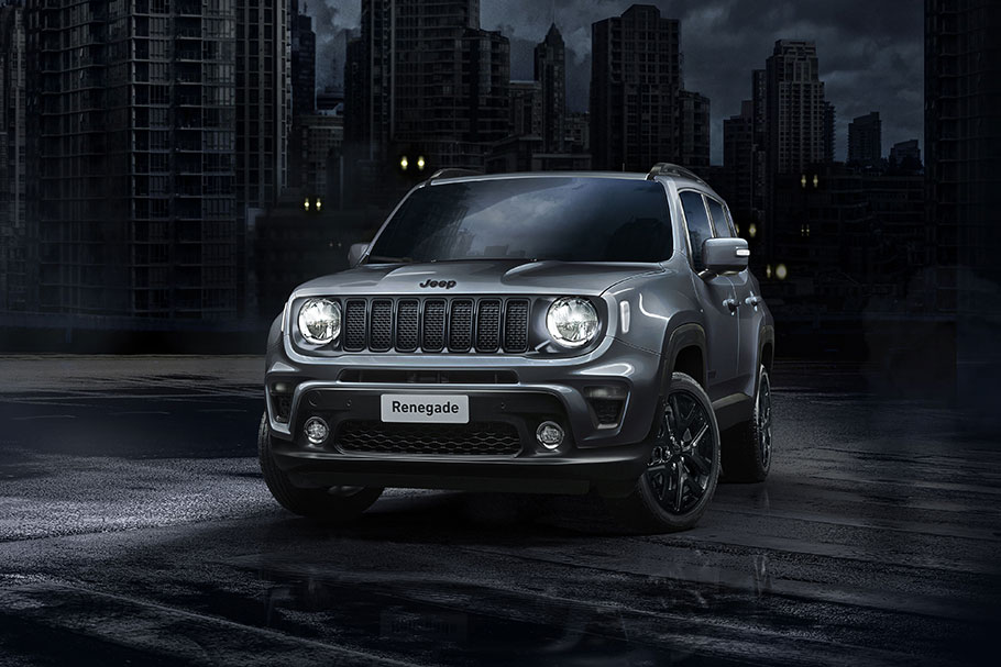 2019 Jeep Renegade and Compas Night Eagle Editions