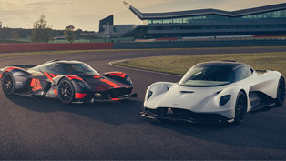 Aston Martin Valkyrie and Valhalla take a flight - details here!