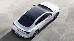 Hyundai presents new solar roof technology with 2020 Sonata lineup