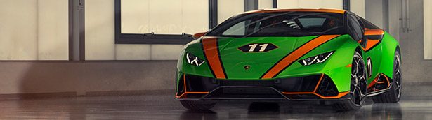 Lambo presents new Huracan EVO GT Celebration limited model!