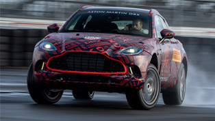Aston Martin is about to reveal its first-ever DBX SUV!