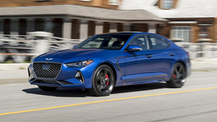 genesis g70 is the winner at aspirational luxury car at the 2019 ideal vehicle awards