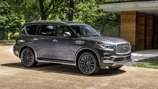 2020 INFINITI QX80 takes home Ideal Vehicle Award!