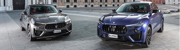 Maserati showcases new Levante Trofeo and GTS at 2019 Salon Privé